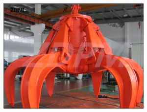 25t Electric Hydraulic Clamshell Grab for Bulk Cargo pictures & photos
