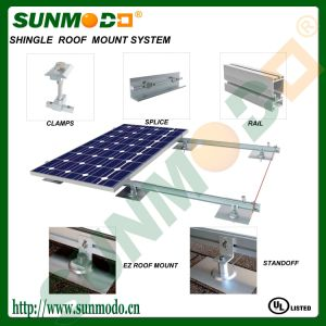 Solar Flashing Mounting Kit Aluminum Plate for Shingle Roof pictures & photos