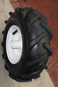 Professional Production Rubber Wheel Tyre (TC0014) pictures & photos