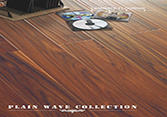 Plain Wave Acacia Handscraped Laminated Flooring pictures & photos