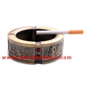 Emboss Logo Custom Souvenir Egpyt Gift Metal Ashtray (BK53358) pictures & photos