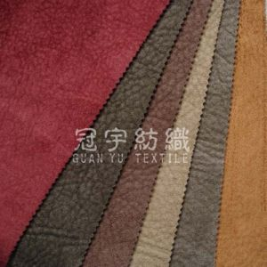 Embossed Suede Compound Fabric for Sofa pictures & photos