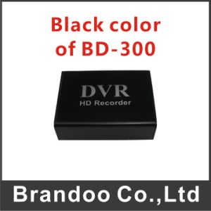 Bd-300 Black Color SD Card DVR Works with Car Cigarette Charger, or Home Power Adapter pictures & photos