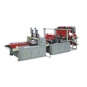 Automatic Double Layer Four-Line Bottom Sealing Bag Making Machine (SL-800) pictures & photos
