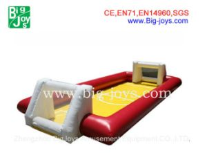 Low Price Inflatable Soap Football Field, Inflatables Sports Games pictures & photos