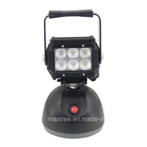 18W Rechargeable LED Magnetic Work Light Commercial Electric Work Light pictures & photos