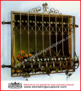 Forged Iron Window Grill, Window Guard/ Balustrade pictures & photos
