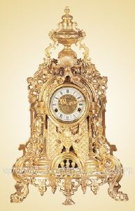 Casting-Copper Art Barock Clock (JGP17-3A)