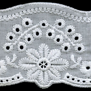 French Embroidery 100% Cotton Lace pictures & photos