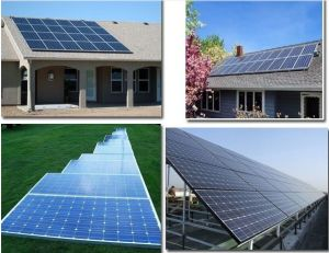 200W-100kw on Grid Solar Power System Grid Tie System pictures & photos
