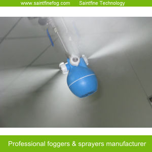Air Innovations Humidifier for Manufacturing Plant Cooling and Dust Control