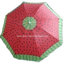 180cm Watermelon Beach Umbrella Summer Umbrella pictures & photos