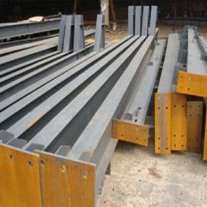 Welded H Section Steel (H-005) pictures & photos