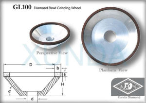 Diamond Bowl Grinding Wheel (XD-DW2)