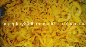 IQF Yellow Pepper Strips