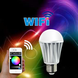7W Wireless Bluetooth RGBW LED Bulb pictures & photos