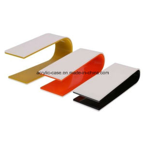 C Shape Acrylic Counter Display Stand for Frames