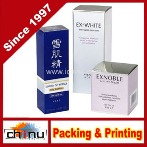 Anniversary Rigid Paper Cardboard Packing Gift Box for Cosmetic (1432) pictures & photos