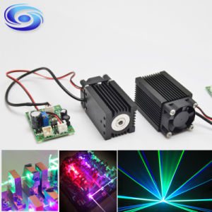 Low Cost High Power Blue 450nm 1.6W DOT Laser Module pictures & photos