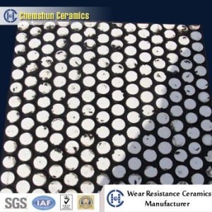 Abrasive Resistant High Alumina Rubber Ceramic Wear Plate pictures & photos