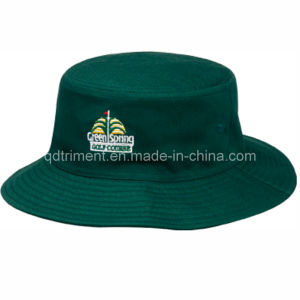 Fashion Embroidery Cotton Twill Fisherman Golf Bucket Hat (TRB003B) pictures & photos