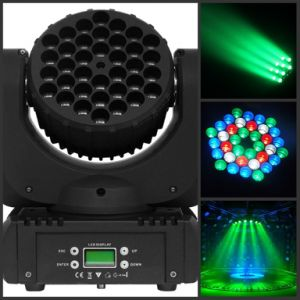 36*3W RGBW LED Moving Head Wash Beam Light pictures & photos