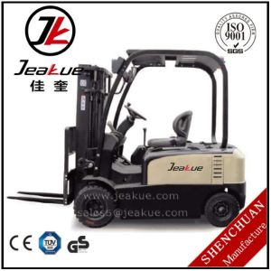 Hot Sell 1.5t-2.0t Four Wheels Electric Forklift pictures & photos