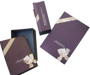 Various Sizes Chocolate Box with Bowknot (YY--B0067) pictures & photos