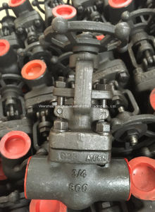 ANSI Forged A105 Socket Welding Gate Valve pictures & photos
