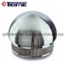 Stainless Steel Handrail Half Ball Curved End Cap pictures & photos
