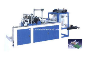 Heat Sealing and Heat Cutting Nylon Bag Making Machine pictures & photos