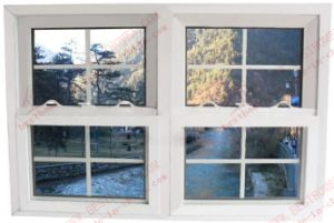 China Wholesale Manufacturer of PVC Double Hung Window (BHP-LW15) pictures & photos