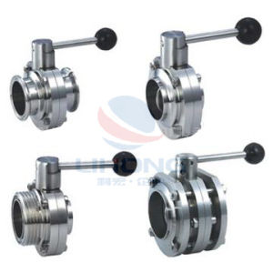 Stainless Steel Sanitary Butterfly Valve pictures & photos