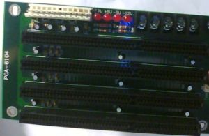 Isa PCA-6104 Backplane (PCA-6104) PCA-6145 for PCA-6740, Sbc-8243, Sbc 357 CPU Cards