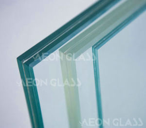 4mm French Green +0.38 Clear PVB + 4mm Clear Laminated Glass pictures & photos