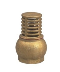 Brass Foot Valve pictures & photos