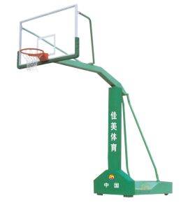 Outdoor Environmental Exercise -Fixing Single-Arm Backetball Stand (JM-1010) pictures & photos