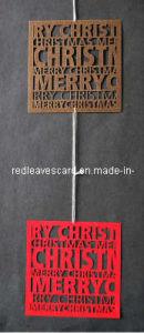 Hot 2011 Laser Cutting Christmas Card Embellishment (ST1007-01)