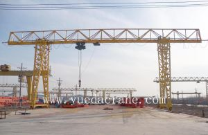 Electrical Hoist Single Girder Gantry Crane (MH3t~32t Single Beam Gantry Crane)