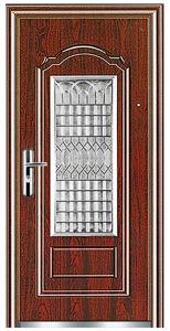 Steel Door in Door (FX-G0862) pictures & photos