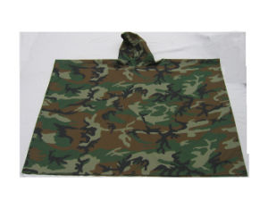 RS05-01e Poncho Army Raincoat Waterproof Raincoat pictures & photos