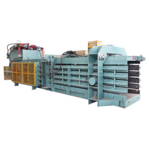 Automatic Baler for Paper Baling with Conveyor pictures & photos