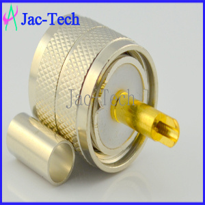 UHF Male Connector Crimp for Rg58 Rg142 Cable