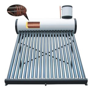 Copper Coil Color Steel Solar Water Heater pictures & photos