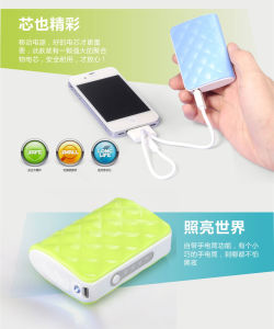 Mobile Phone Emergency Charger, Metal Tube Mobile Power Bank (OM-PW025) pictures & photos