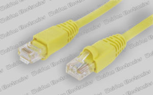 Telecom Tailor Made CAT6 U/UTP Ethernet LAN Patch Cable, RJ45 pictures & photos