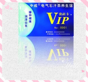 Printed Cheap New Standard Cr80 Customized PVC Cards