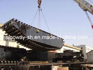 Extendable Pontoon of Amphibious Excavator (SWPU100) pictures & photos