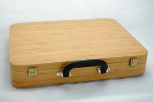 Bamboo Briefcase for Tools or Laptop pictures & photos