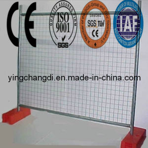 High Galvanized Temp Wire Fencing